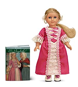 Elizabeth 6 inch Mini Doll with Book