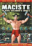 Maciste Against Hercules & Maciste in King Solomon [DVD] [Region 1] [US Import] [NTSC]
