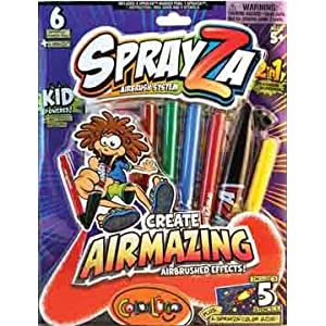 Giddy-Up SprayZa AIRBRUSH Activity Kit - Compare To Blo Pens!