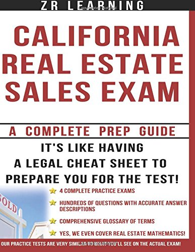 California Real Estate Sales Exam: A Complete Prep Guide