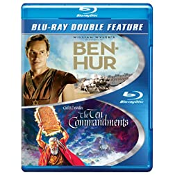 Ben-Hur / The Ten Commandments [Blu-ray]
