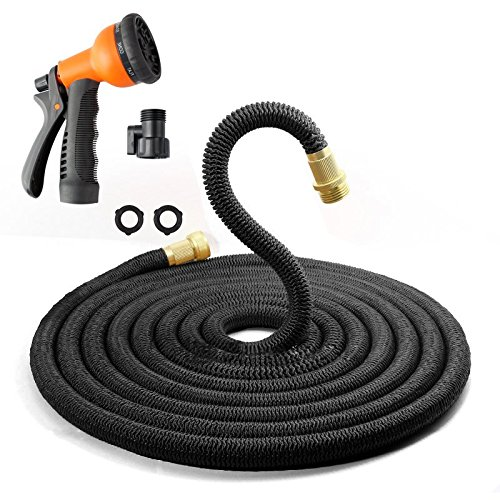 3X Stronger 50 Ft Ultra Pocket Garden Expandable Hose Dura Rib As Seen