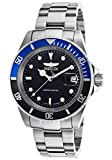 Invicta Limited Edition Mens ILE9937OBASYB Pro Diver Analog Display Swiss Automatic Silver Watch