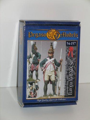 Napoleonic French Dragoon 16th Regt. 1805----Metal Military Miniature