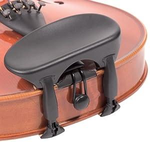 Wittner Composite 1/16-1/8 Violin Chinrest - Center Mount - Hypoallergenic