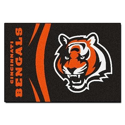 Fanmats NFL Cincinnati Bengals Nylon Rug