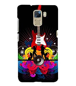EPICCASE funky club Mobile Back Case Cover For Huawei Honor 7 (Designer Case)