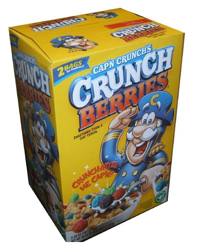 Captain Crunch Crunch Berries Cereal 40 Ounce Value Box