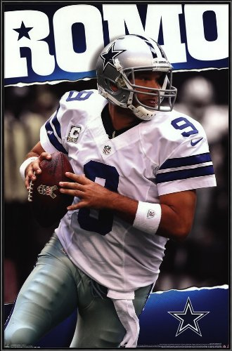 "Dallas Cowboys - T Romo 13, Size 22.25"" X 34.25"" at Amazon.com"
