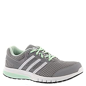 adidas Women's Galaxy Elite,Mid Grey/FTW White/Frost Green,US 10 B