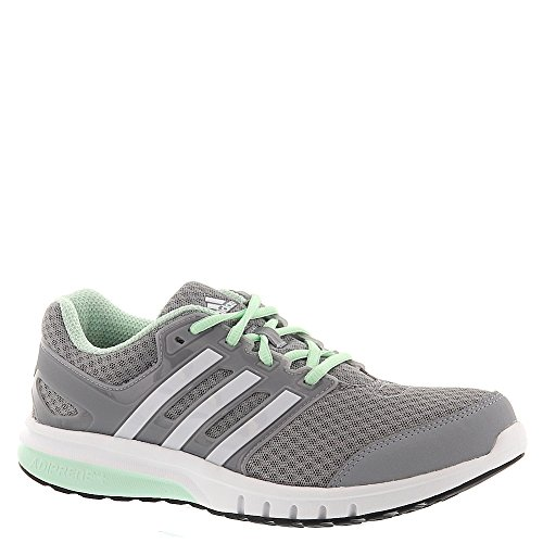 adidas Performance Women's Galaxy Elite W Running Shoe, Mid Grey/White/Frozen Green, 8.5 M US (Adidas Adiprene Shoes compare prices)
