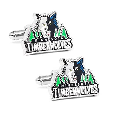 NBA Minnesota Timberwolves Cufflinks