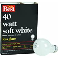 GE Private Label 21048 40A/W-DIB Soft White Light Bulb Pack of 12