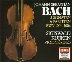 JS Bach : Sonates et Partitas pour violon seul