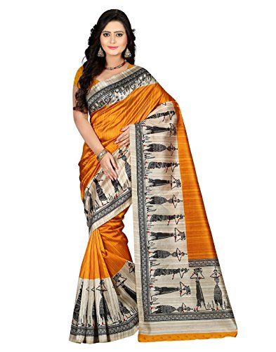 e-VASTRAM-Womens-Art-Mysore-Printed-SilkNS7AYellow
