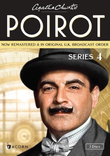 Cover art for  Agatha Christie's Poirot: Series 4