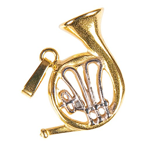 Anhnger-Horn-Schnes-Geschenk-fr-Musiker-mit-Geschenkverpackung