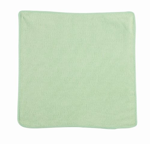 Rubbermaid Commercial 1820578 Microfiber Economy Cloth, 12- By 12-Inch, Green front-625818