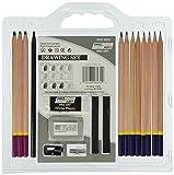Pro Art 18-Piece Sketch/Draw Pencil Set