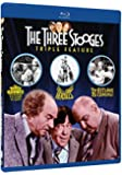 Three Stooges Collection - Volume Two - Triple Feature - Blu-ray (The Three Stooges Meet Hercules, Three Stooges Go Around The World In A Daze and The Outlaws Is Coming)