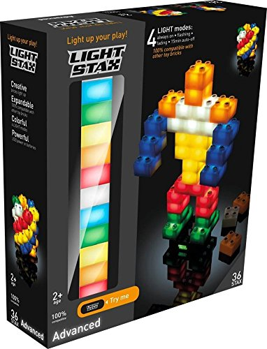 LIGHT-STAXR-Illuminated-Blocks-Classic-Set-36-Pieces