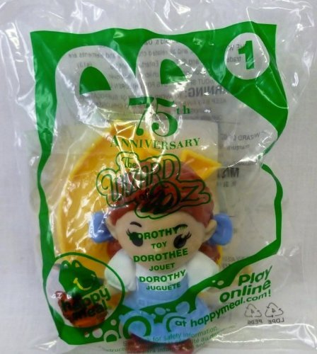 The Wizard of Oz 75th Anniversary Dorothy #1 Mcdonald's 2013 Action Figure - 1