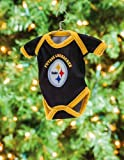 Baby Shirt Ornament, Pittsburgh Steelers