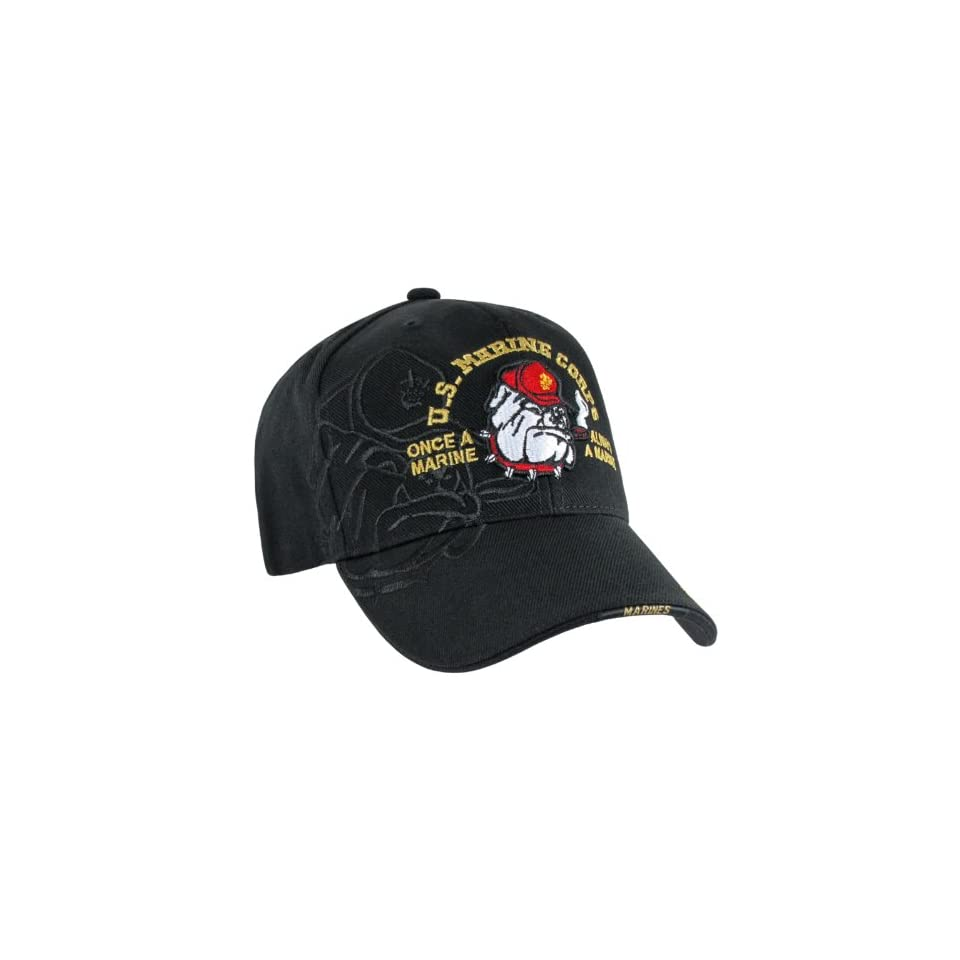 RAPID DOMINANCE Shadow Military Baseball Caps (Adjustable , BULLDOG)