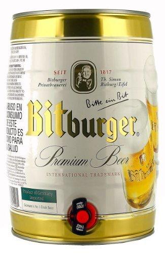 Bitburger-2-x-de-cerveza-de-barril-de-5-l-lata