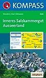 Inneres Salzkammergut, Ausseerland: 1 : 25 000. Wandern / Rad / Skitouren. GPS-genau.