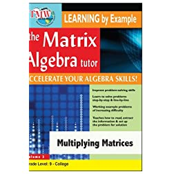 Matrix Algebra Tutor: Multiplying Matrices