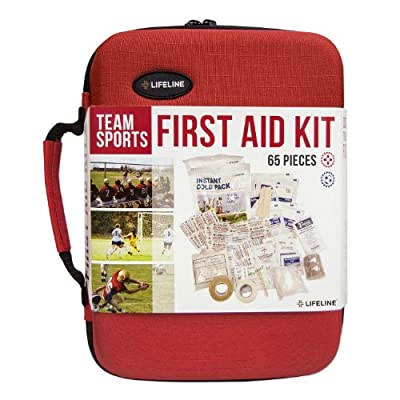 Tactical First Aid Kit: Lifeline Team Sports Trainer First Aid Kit by Lifeline First Aid Llc
