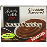 Simply Delish Sugar Free Instant Chocolate Whipped Dessert 36 g (Pack of 6)