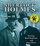 img - for The New Adventures of Sherlock Holmes Collection Volume Three book / textbook / text book