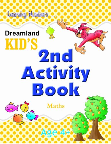 Dreamland Kid's: 2nd Activity Book - Maths (Age 4+)  (Kid's Activity Books) Image
