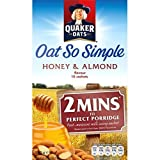 Quaker Oat So Simple Honey & Almond 330g