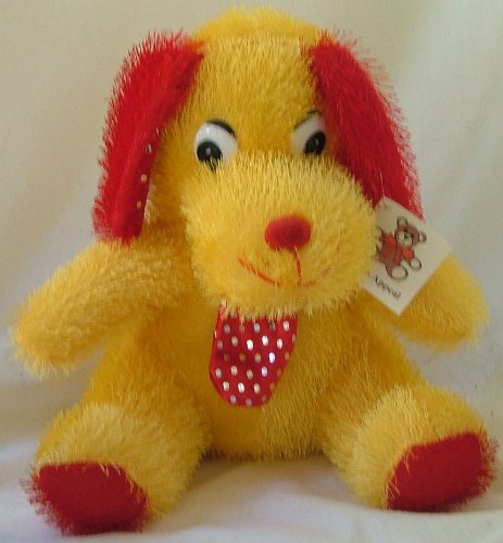 Plush Appeal,yellow Dog - 1