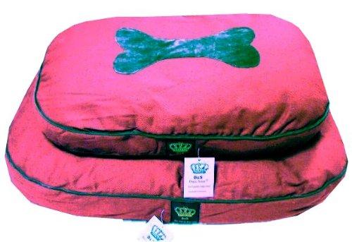 Bild von: Hundebett Red Dream - Schlafplatz - kuschelig weich - 85x55x9cm - Dogs Stars