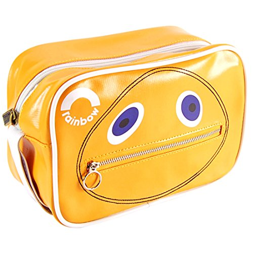 Rainbow Zippy Wash Bag. Officially licensed - top quality. Classic Retro Kids TV Show - Funky Gift