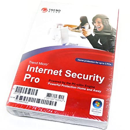 Trend Micro Internet Security Pro 2008 3-User [OLD VERSION]