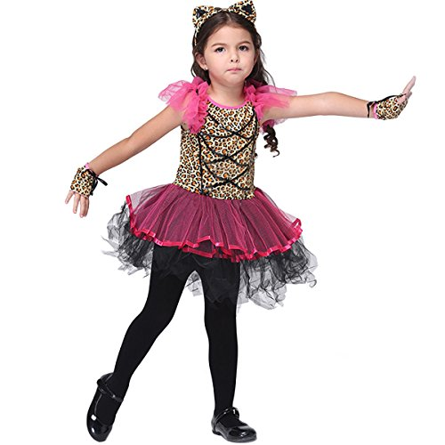 ZOEREA Girls Cats Costume Accessory Fairy Halloween Cosplay Party Fancy Dress