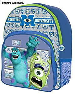 DISNEY THEME CHARACTER SCHOOL BAG WITH PENCIL SET (MONSTERS UNIVERSITY)