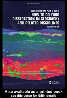 Phd thesis geography
