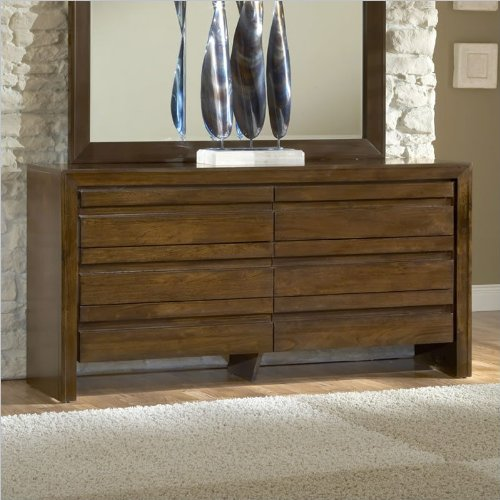 Modus Furniture International Element Dresser, Chocolate Brown front-484418