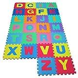 Spielteppich Kinderteppich Spielmatte Lernteppich 86 tlg. 192x192 3,84m²
