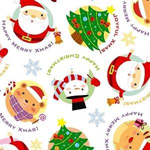 jp: タカ印 包装紙 クリスマス ... : クリスマス 包装紙 無料 : 無料