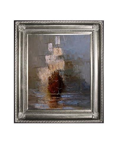 "Justyna Kopania ""Nostalgy"" Framed Canvas Print"
