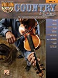 Country Classics - Violin Play-Along Volume 8 - Bk+CD