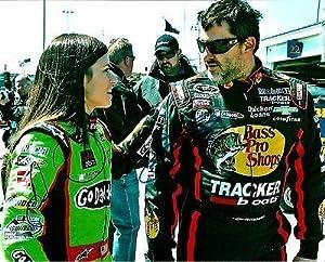 Danica Patrick & Tony Stewart NASCAR Dual Signed 8x10 Photo COA #2 - PSA DNA... by Sports Memorabilia