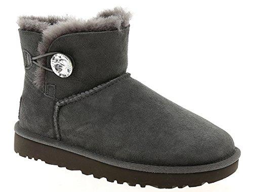 ugg-bottes-en-mouton-new-mini-bailey-button-bling-ii-grey-40